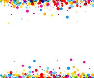 Background with color drops. White paper background with color drops. Vector illustration Vector Illustration