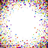 Background with color drops. stock illustration