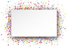 Background with color drops. White background with color drops. Vector illustration Vector Illustration