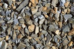 Background - Color Gravel Texture Stock Image