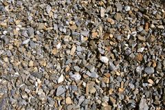 Background Color Gravel Texture Royalty Free Stock Photo