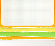 Background of color sheets Royalty Free Stock Image