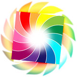 Background Color Shows Spiral Spiralling And Whirling Stock Images