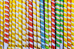 Background of color sticks Royalty Free Stock Photography