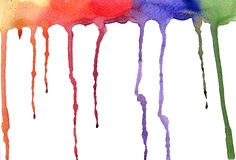 Background color water drops. On the white paper Royalty Free Stock Image