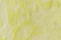 Background color yellow. Abstract painted decorative background royalty free stock photo