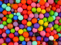Background with colored balls Stock Image