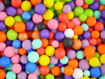Background with colored balls Stock Photo