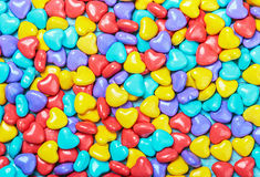 Background of colored candy Stock Photo