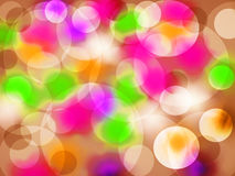 Background. colored circles. Different circles on a colored background Stock Photography