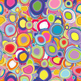 Background with colored circles Royalty Free Stock Photography