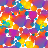 Background with colored circles. Festive colorful abstraction Royalty Free Stock Images