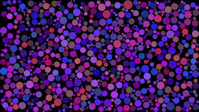 Background with colored circles. Raster. 9 Stock Image