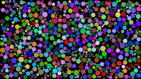 Background with colored circles. Raster. 4 Royalty Free Stock Photos