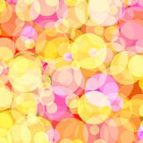 Background with colored circles. 1. Background with colored circles. Raster 1 Royalty Free Stock Photography