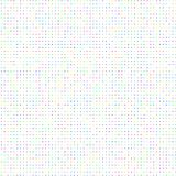 A background of colored dots of the same size on white. A background of colored dots of the same size on white for the text royalty free illustration