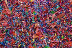 Colored graphite crumbs. Background of colored graphite crumbs a close-up stock photography