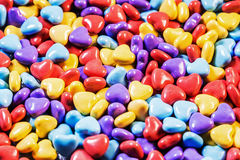 Background of colored gum Stock Photo