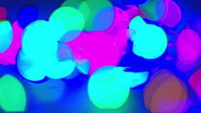 Background, colored-highlights blink. Cool stock footage