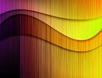 Background of colored lines Royalty Free Stock Photos
