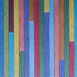Background of colored old boards. stock photo