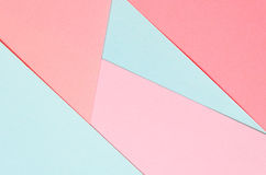 Background of colored paper geometric shapes. Vivid template Royalty Free Stock Photography
