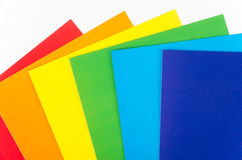 Background of colored paper Royalty Free Stock Image