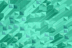 Background of colored pattern. Of green colomn Stock Image
