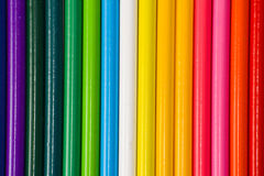 Background colored pencil Stock Photo