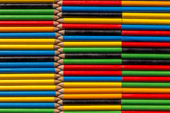 Background  with colored pencils Stock Images