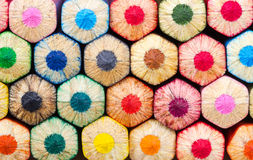Background of colored pencils Royalty Free Stock Photo