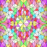 Background of colored polygons Royalty Free Stock Photo