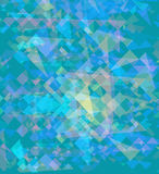 Background with colored polygons. Raster. 1. Raster stock illustration
