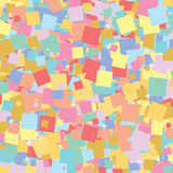 Background of colored squares. Can be used as wallpaper, textiles. Vector illustration Stock Photos