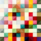 Background of colored squares Stock Image