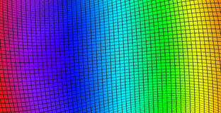 Background of colored squares with distortion Royalty Free Stock Photo
