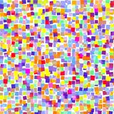 Background of colored squares on white. A background of colored squares on white for the text vector illustration