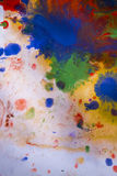 Background colored stains of paint on paper Royalty Free Stock Photography