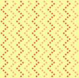 Background: colored stars on yellow. Royalty Free Stock Images