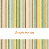 Background with colored stripes. And place for text stock illustration