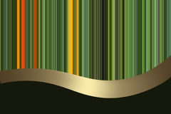 Background with colored stripes. Abstract background with ribbon and colored stripes stock illustration