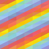 Background with colored stripes. Abstract seamless background with rainbow colored stripes, vector illustration Stock Photography