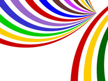 Background with colored stripes. Background with colored stripes ,isolated on the white Royalty Free Stock Images