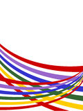 Background with colored stripes ,vector Royalty Free Stock Image