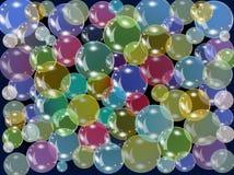 Color bubbles Royalty Free Stock Photos