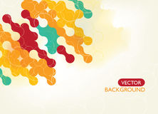 Background. Colorful abstract Background design layout Royalty Free Illustration
