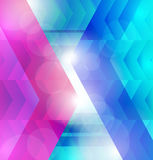 Background of colorful arrows Stock Photo