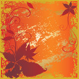 Background with colorful Autumn Leaves Royalty Free Stock Photo