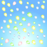 Background with colorful balloons for a festive stylish. Design Vector Illustration