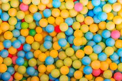 Background Colorful balls for playing games Stock Image